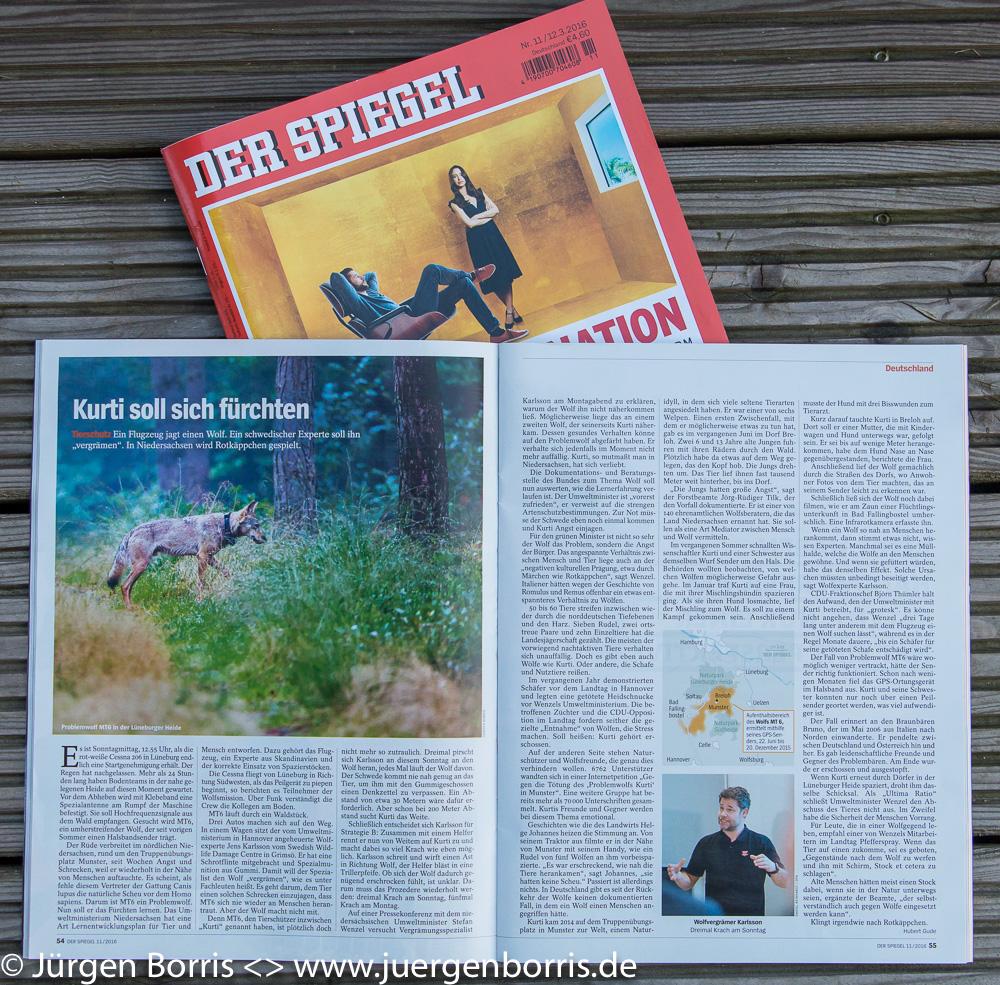 Der spiegel nr 11 2016 j rgen borris naturfotografie for Der spiegel aktuell